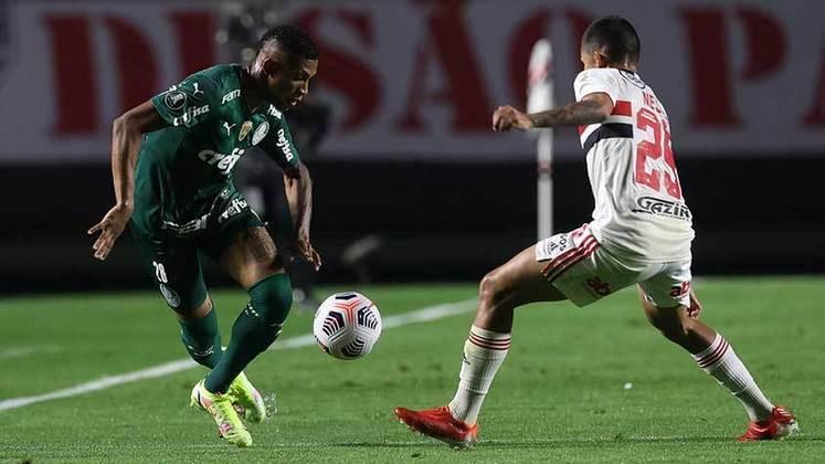 São Paulo 1 x 1 Palmeiras - Copa Libertadores 2021 - Quartas de final - Ida
