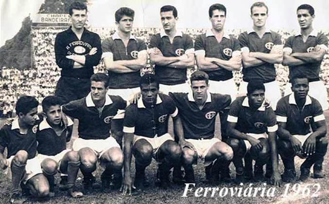 São Paulo 1 x 4 Ferroviária (16/8/1962) - Paulistão