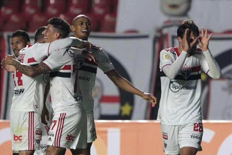 Igor Gomes marcou aos 47 minutos do segundo tempo, contra o Grêmio. Confiança à flor da pele