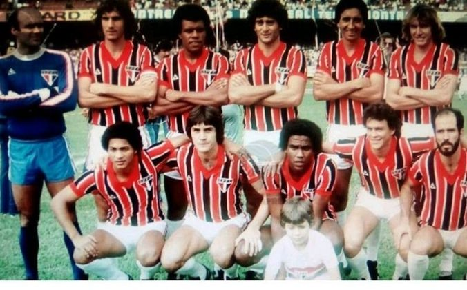 São Paulo 2 x 1 Defensor Sporting - 21/09/1982