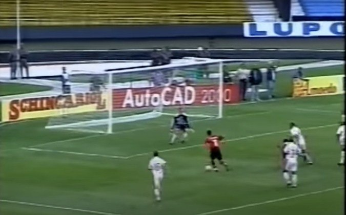 São Paulo 2 x 5 Flamengo (6/2/2000) - Rio-São Paulo