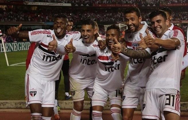 São Paulo - 2018: Fazendo boa campanha, o São Paulo foi campeão do primeiro turno ao somar 41 pontos. Porém, o campeão brasileiro daquele ano foi o Palmeiras e o Tricolor acabou na quinta posição.