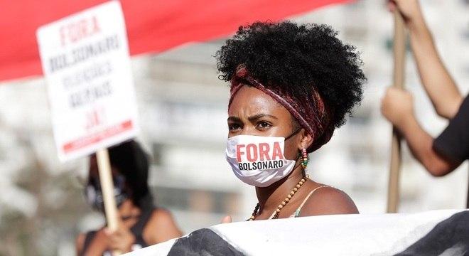 Na Roosvelt, manifestantes pediram o impeachment de Jair Bolsonaro