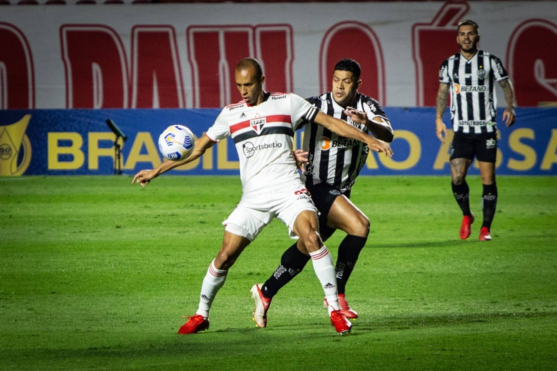 São Paulo e Atlético-MG ficam só no empate em jogo ruim no Morumbi