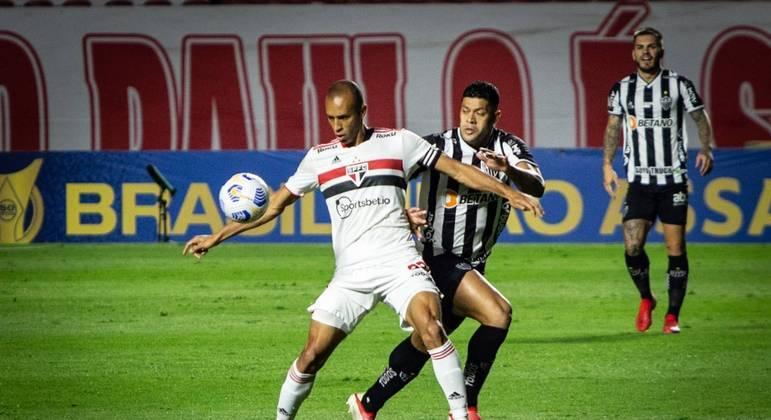 São Paulo e Atlético-MG ficam só no empate em jogo fraco do Brasileirão