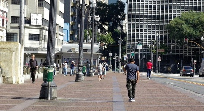 Índice de isolamento em São Paulo foi de 50% no domingo (28)