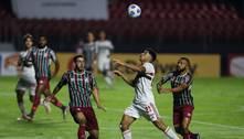 São Paulo e Fluminense empatam sem gols em estreia no Brasileiro