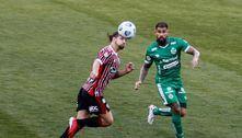 Com gols no final, Juventude e São Paulo empatam em Caxias do Sul