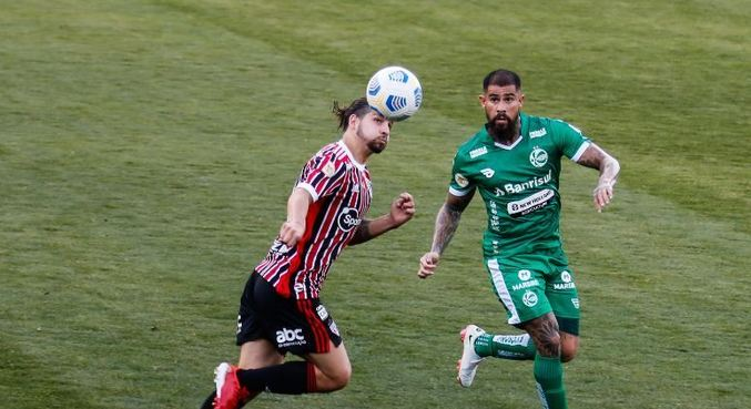 São Paulo e Juventude jogaram na tarde deste domingo (29)