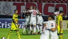 São Paulo goleia Mirassol por 4 a 0 e enfrenta Palmeiras na final
