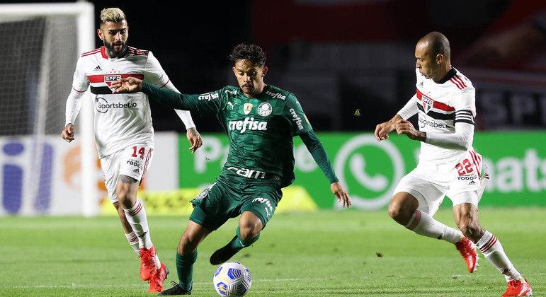 São Paulo e Palmeiras se enfrentam nesta terça-feira (10) pelas quartas de final da Libertadores