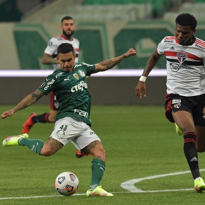 Dudu, carrasco do São Paulo nos últimos anos, fez segundo gol da vitória por 3 a 0