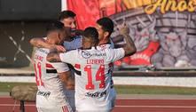 São Paulo vence Atlético-GO e se afasta da zona de rebaixamento