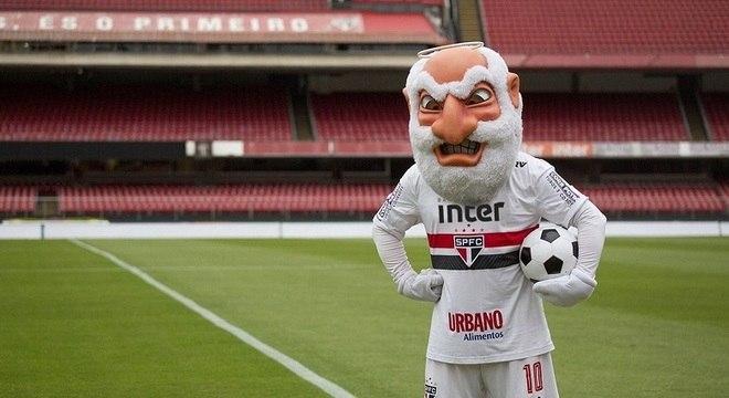 Mascote do São Paulo fica 'pistola' para a Copa do Mundo