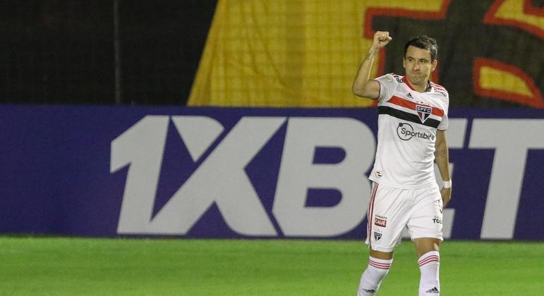 Pablo marcou o gol da vitória do São Paulo diante do Sport