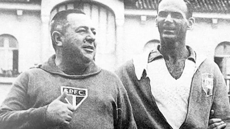 São Paulo: Vicente Feola – Técnico campeão da primeira Copa do Mundo da Seleção Brasileia, em 1958, Feola também detém o recorde entre os técnicos à frente do São Paulo com 524 jogos.