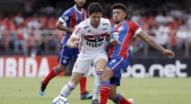 São Paulo e Bahia jogaram pela 5ª rodada do Campeonato Brasileiro