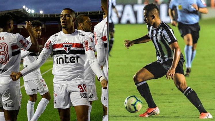 São Paulo x Ceará – válido pela 16ª rodada: O jogo entre São Paulo e Ceará foi adiado devido à disputa do time paulista na Copa do Brasil, contra o Fortaleza.