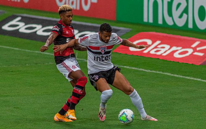 São Paulo x Flamengo - 38ª rodada - Data a definir - Morumbi