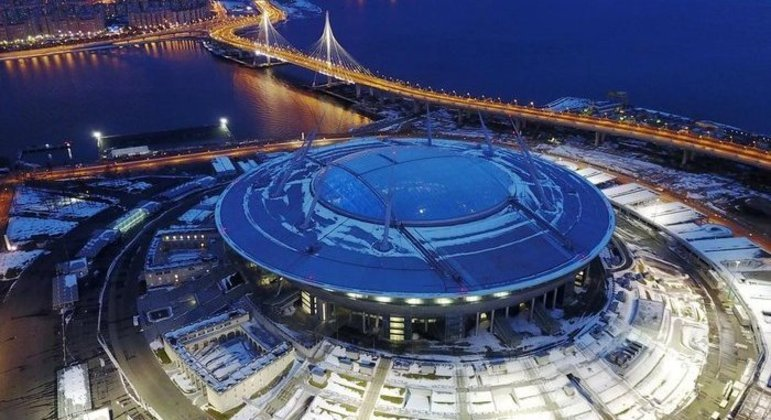 iSão Petersburgo, Rússia, Krestovsky Stadium