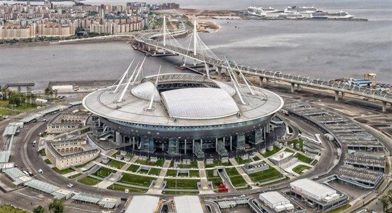 São Petersburgo, Rússia, Krestovsky Stadium