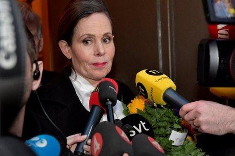 A secretária permanente da Academia Sueca, Sara Danius, anunciou que deixaria o cargo em abril de 2018