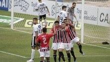 São Paulo goleia a Inter de Limeira e vence a primeira com Crespo