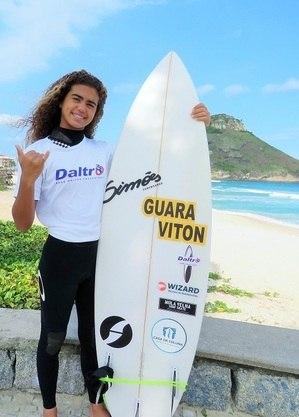 Sara Ozório, 13 anos do Rio de Janeiro