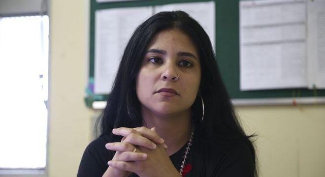 Sara Suene, coordenadora do Centro de Atenção Psicossocial (CAPS) de Sobradinho (DF)