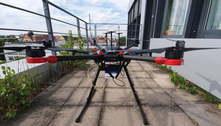 Drone é capaz de encontrar vítima de acidente pelo sinal de celular