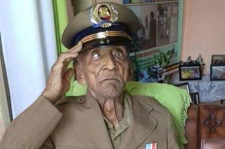 Sargento Olímpio morreu em casa com a família