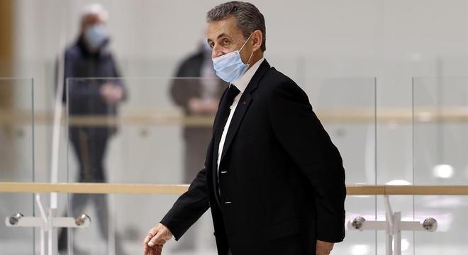Ex-presidente da França Nicolas Sarkozy
