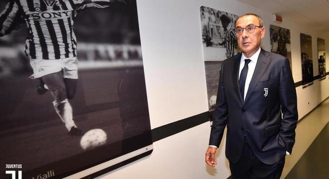 Barbeado e paramentado, no Museu da Juventus