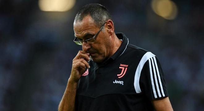 Sarri, apesar do resultado útil, um treinador preocupado