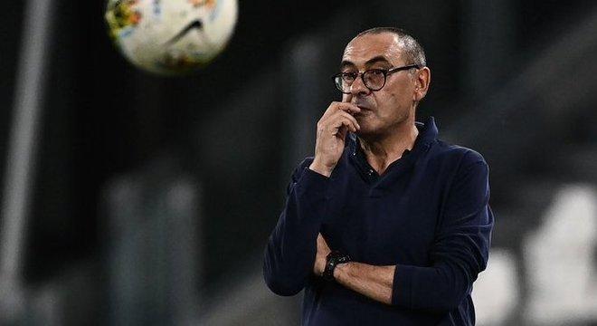 """Sarri, o pior futebol dois nove títulos consecutivos da """"Senhora"""""""