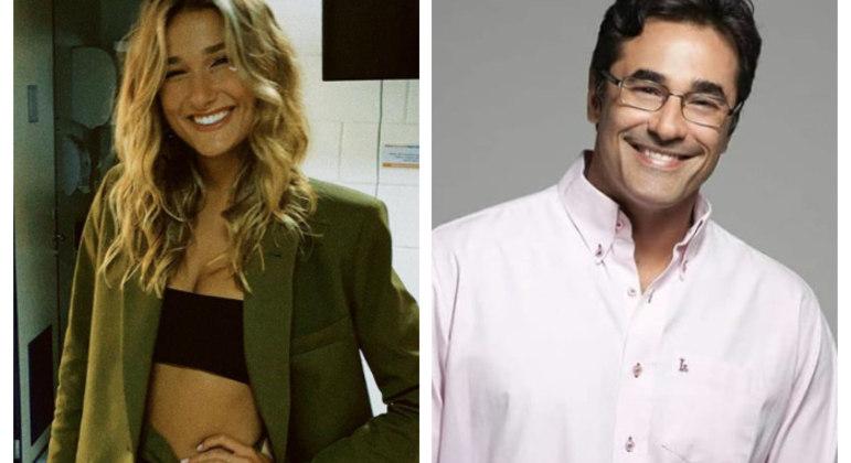Sasha Meneghel vem ao Brasil para acompanhar estado de saúde de Luciano Szafir