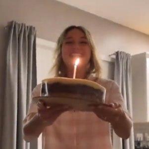 Sasha celebra aniversário do marido