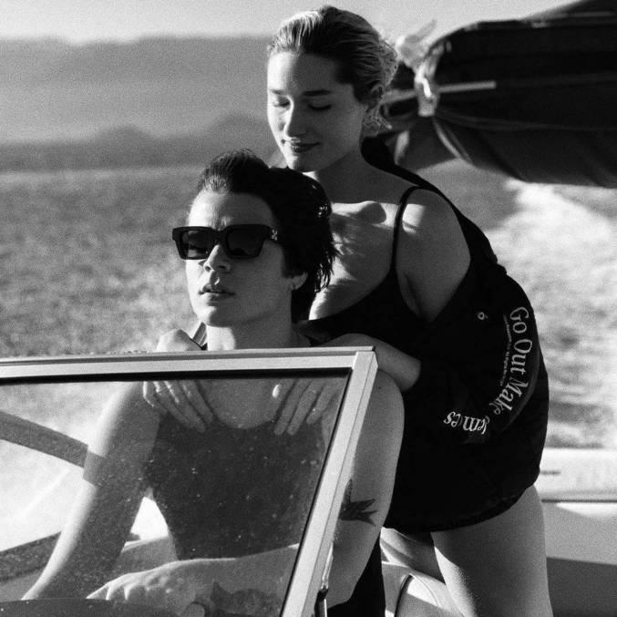 """""""O casal mais perfeito"""", elogiou uma admiradora"""