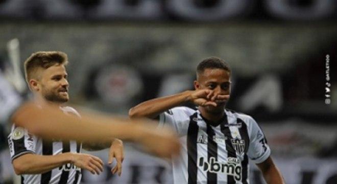 Sasha e Keno comandaram o ataque do Galo, que também teve grande jornada de Savarino diante do Flamengo