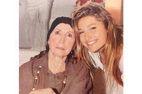 Sasha usou as redes sociais para homenagear a avó