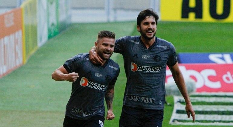 Eduardo Sasha fez o gol que garantiu o Atlético-MG na final