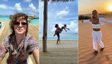Sasha e João Figueiredo criam perfil de casal para compartilhar viagens