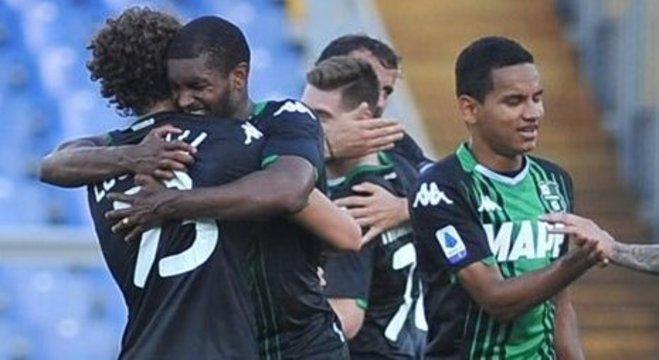 Lazio 1 X 2 Sassuolo