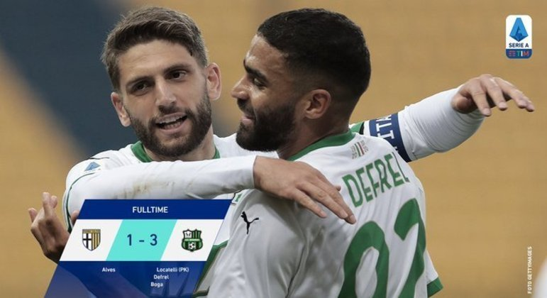 """O Sassuolo, ainda com chances de um lugar na """"Confederation League"""""""
