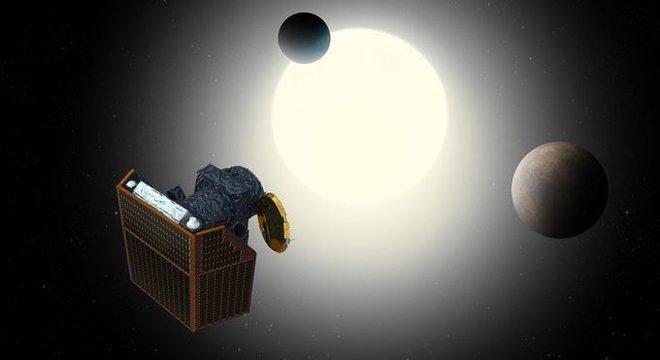 Satélite Cheops, da Agência Espacial Europeia (ESA)