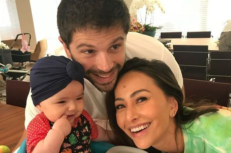 Duda postou fotos de momentos marcantes da família
