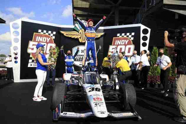 Sato é o único japonês a vencer a Indy 500