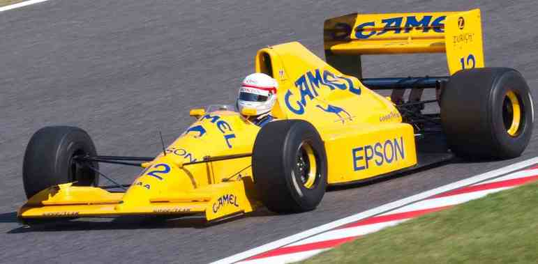 Satoru Nakajima disputou 74 corridas entre 1987 e 1991, somando 16 pontos