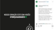 Chapecoense homenageia vítimas de creche em SC: 'Atrocidade'