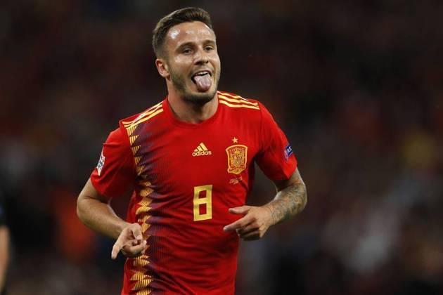 Saúl Ñíguez (Espanha) - fora por opção do treinador
